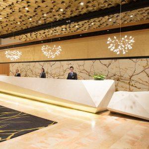 קבלת במלון